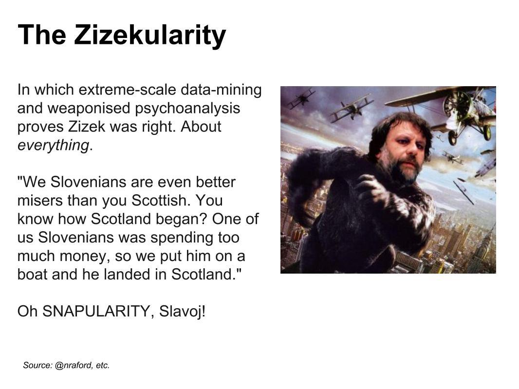 Zizekularity Singularity